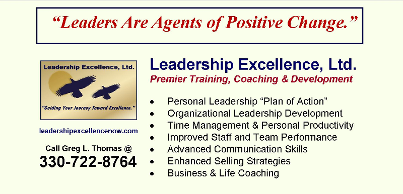Leadership Excellence Ad
