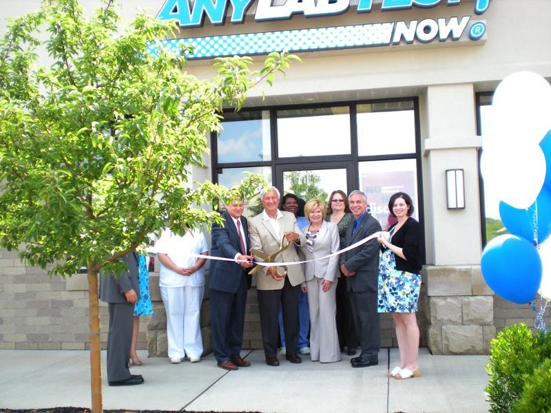 Any Lab Test Now Ribbon Cutting