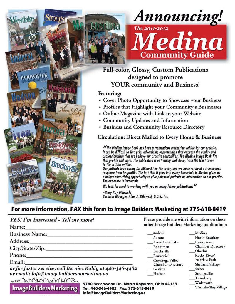 Medina Magazine Ad