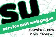 Service unit Web pages