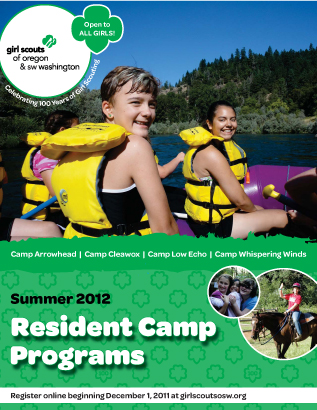 2012 Resident Camp Brochure