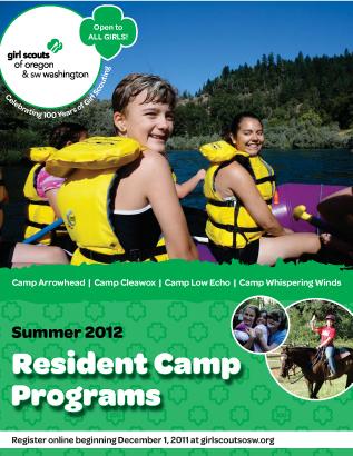 2012 Resident Camp Brochure