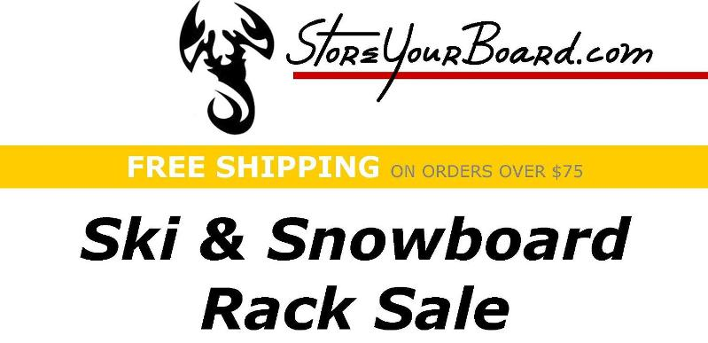StoreYourBoard Ski and Snowboard Sale