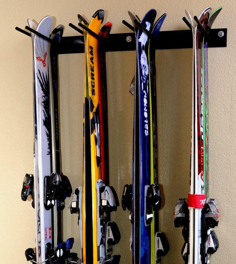 Garage Ski Rack