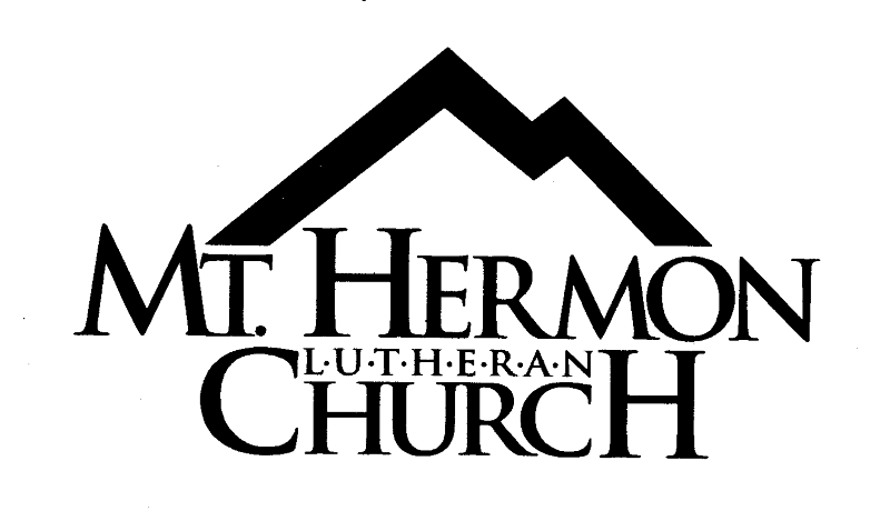 Scheduled Events for Mt Hermon Lutheran Church