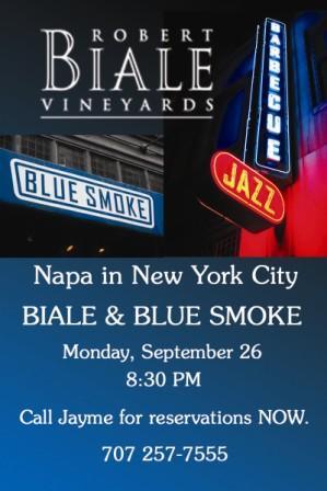 186 Robert Biale Vineyards In NYC