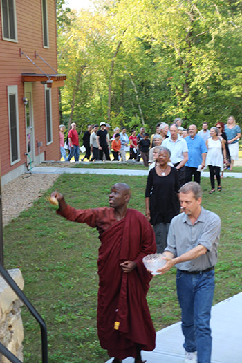 Blessing of building