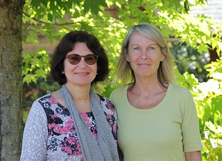Patricia Genoud Feldman and Annie Nugent