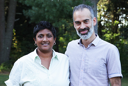 Anushka Fernandopulle and Pascal Auclair