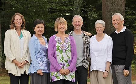 Kate Munding (assistant), Kamala Masters, Sally Armstrong, Greg Scharf, Andrea Fella and Guy Armstrong