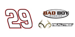 No. 29 Realtree/Bad Boy Buggies logo