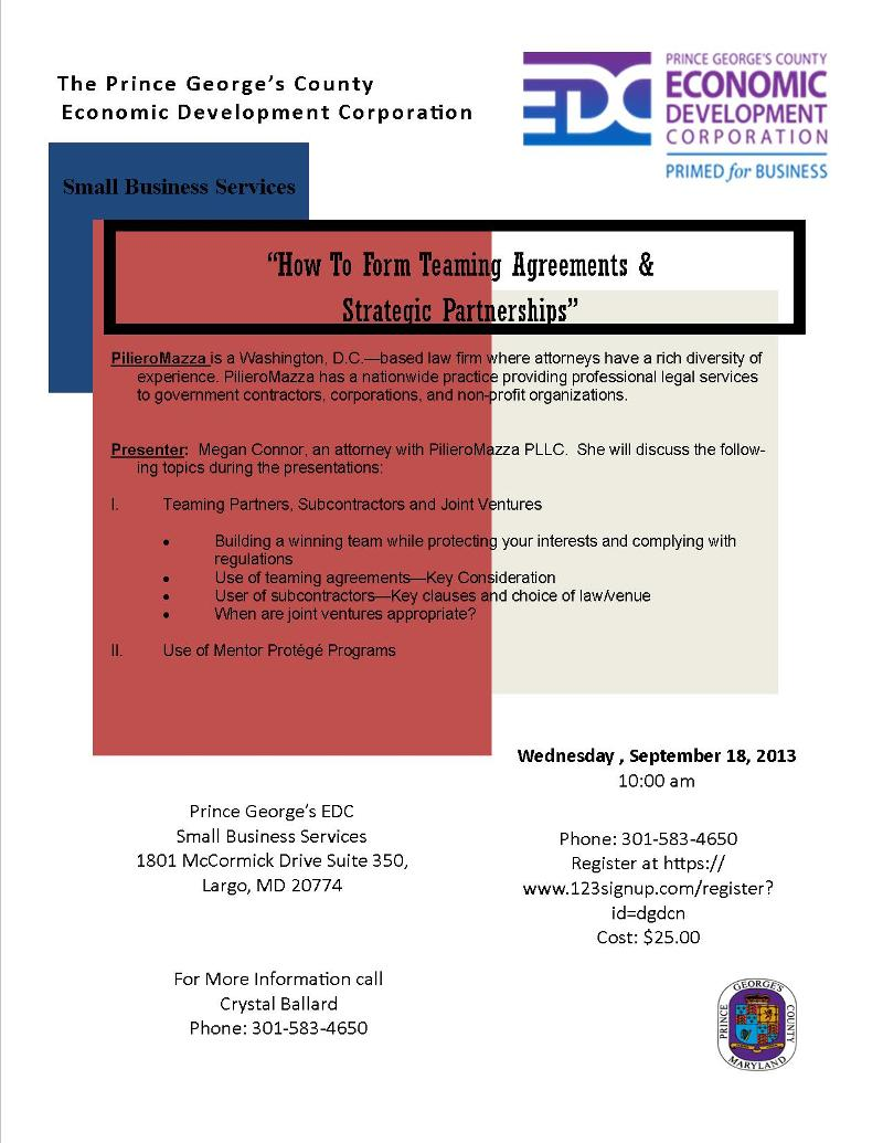 BIZ BUZZ News From Prince George S County EDC August 21