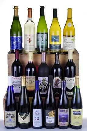 wine bottles stu