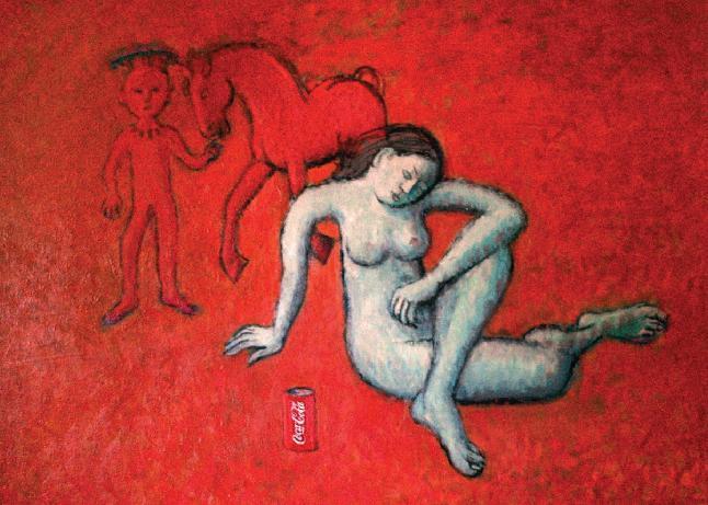 red coca cola
