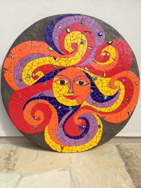 1305 News From Santa Barbara School Of Mosaic Art Santa