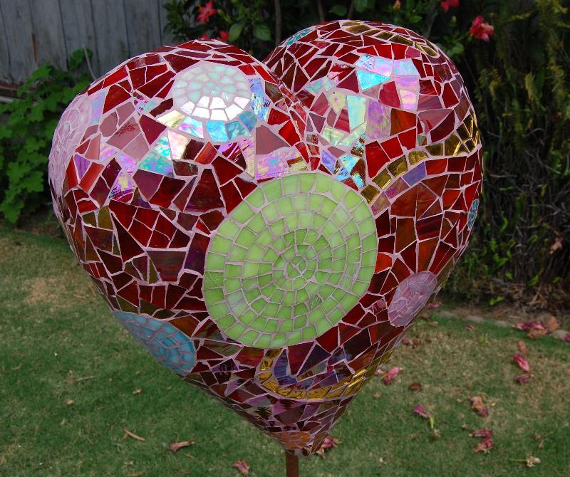 Garden Heart Sculpture