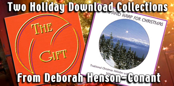 Two Holiday Download Collections from Deborah Henson-Conant