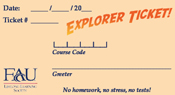 Explorer Ticket