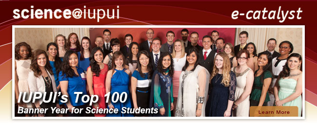 IUPUI's Top 100: Science Students with Dean Simon Rhodes