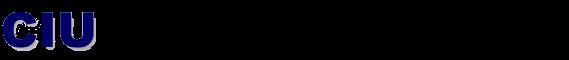 CIU website logo