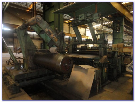 Slitting Line w/ Strapping Line - 111808