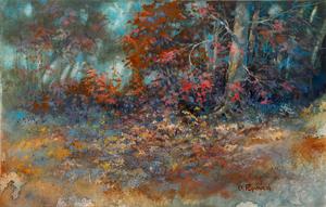 �Dale L Popovich Autumn Romance in Brown County