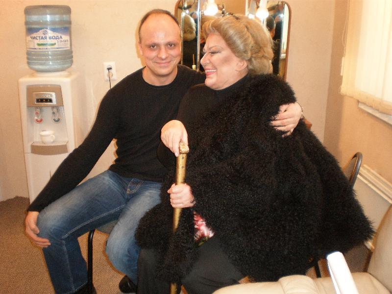 Grigor Palikarov and Elena Obrazcova