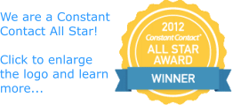 We are a Constant Contact All Star!  Click for more...