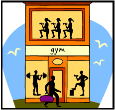 sample gym