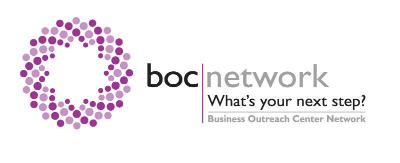 BOC Network Logo - Tagline