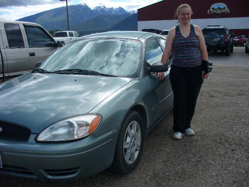 Amanda and Her Car