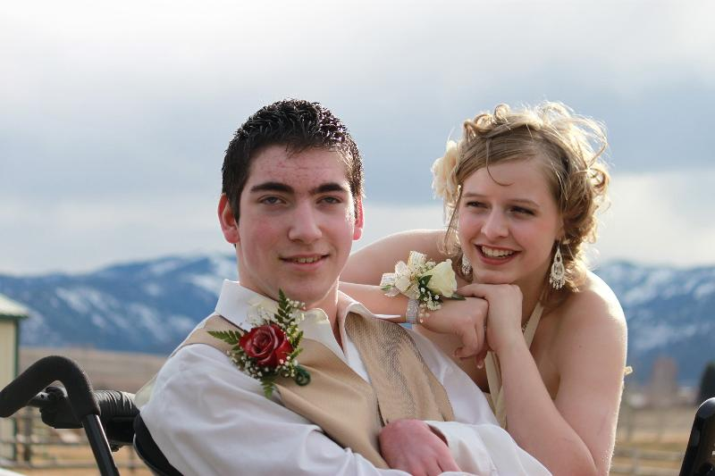 Devin and his prom date