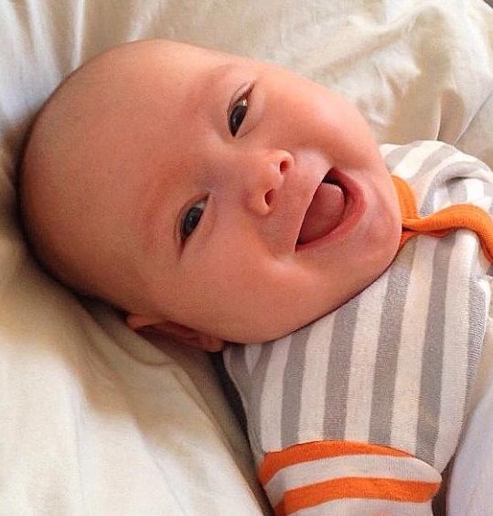 Bodhi morning smile