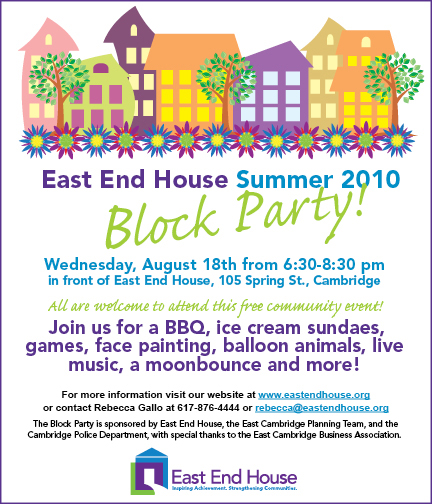 Summer Block Party: Games, Food and Fun!
