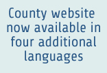 County website now available in four additional languages