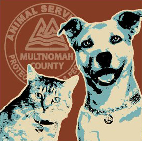 Multnomah County Animal Services Logo