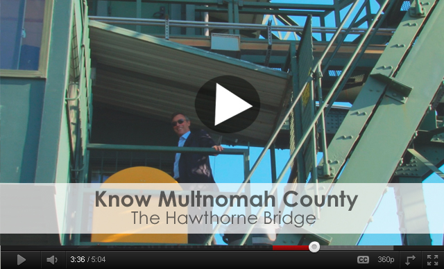 Know Multnomah County: The Hawthorne Bridge