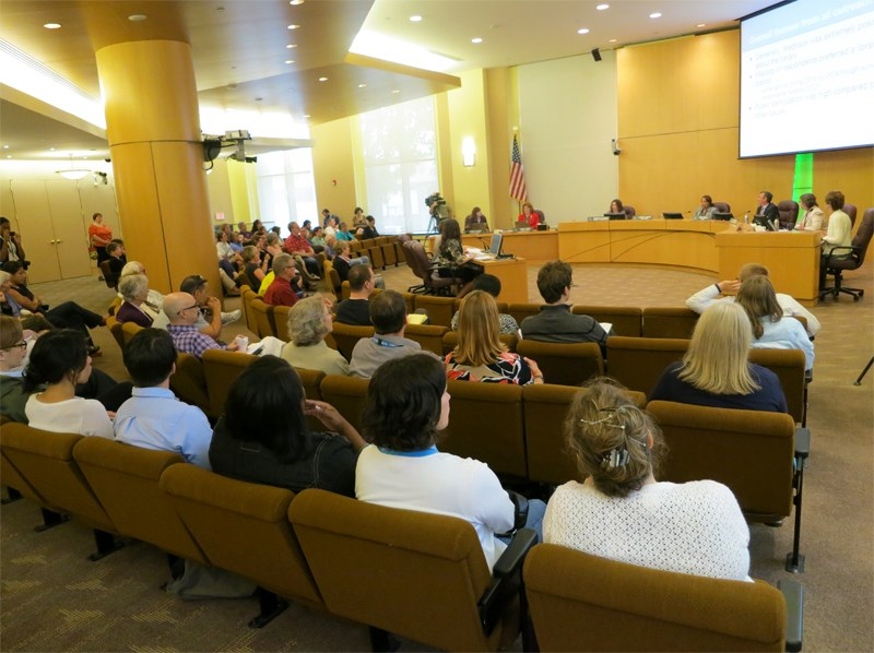 At the Aug. 2 board meeting