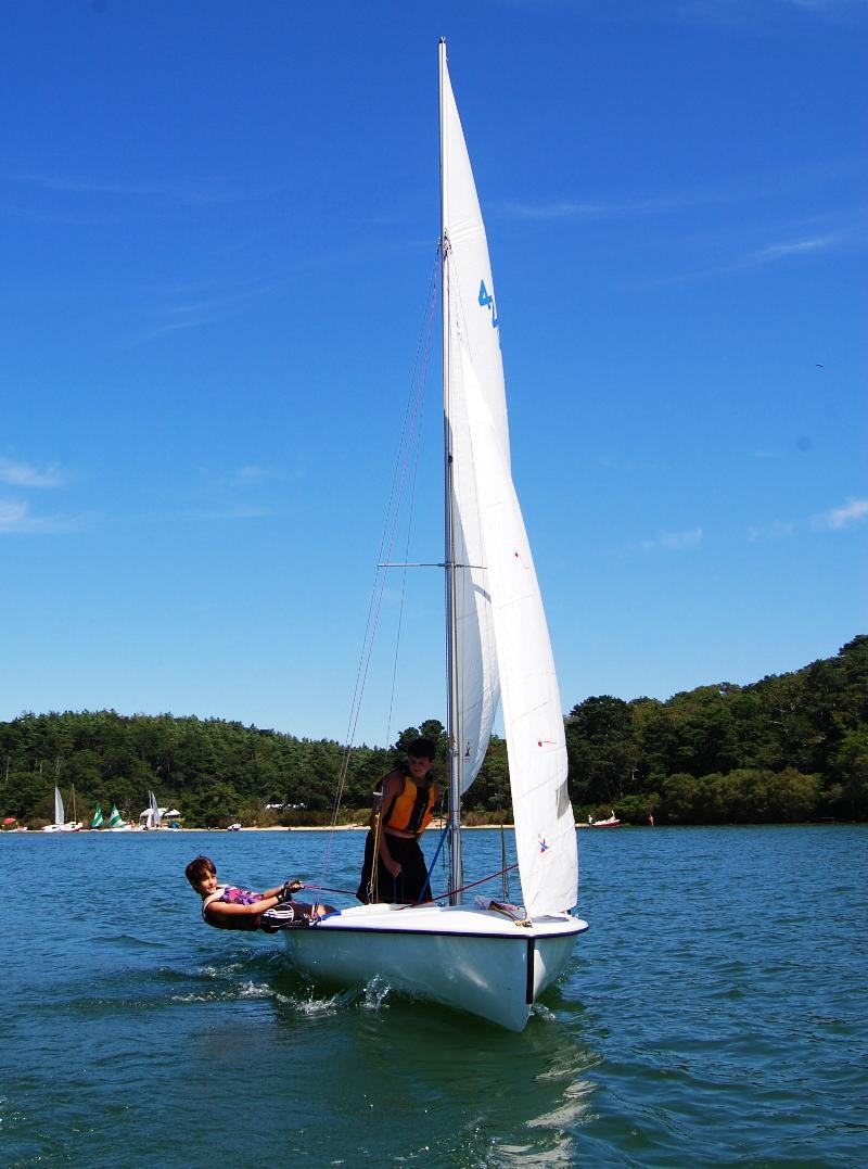 sailing school fun