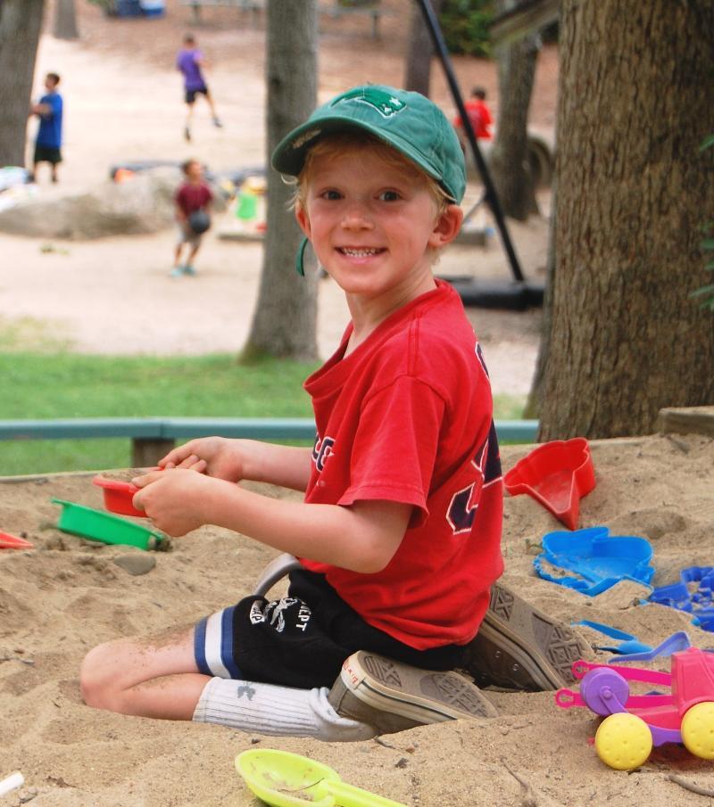 sand box happy camper