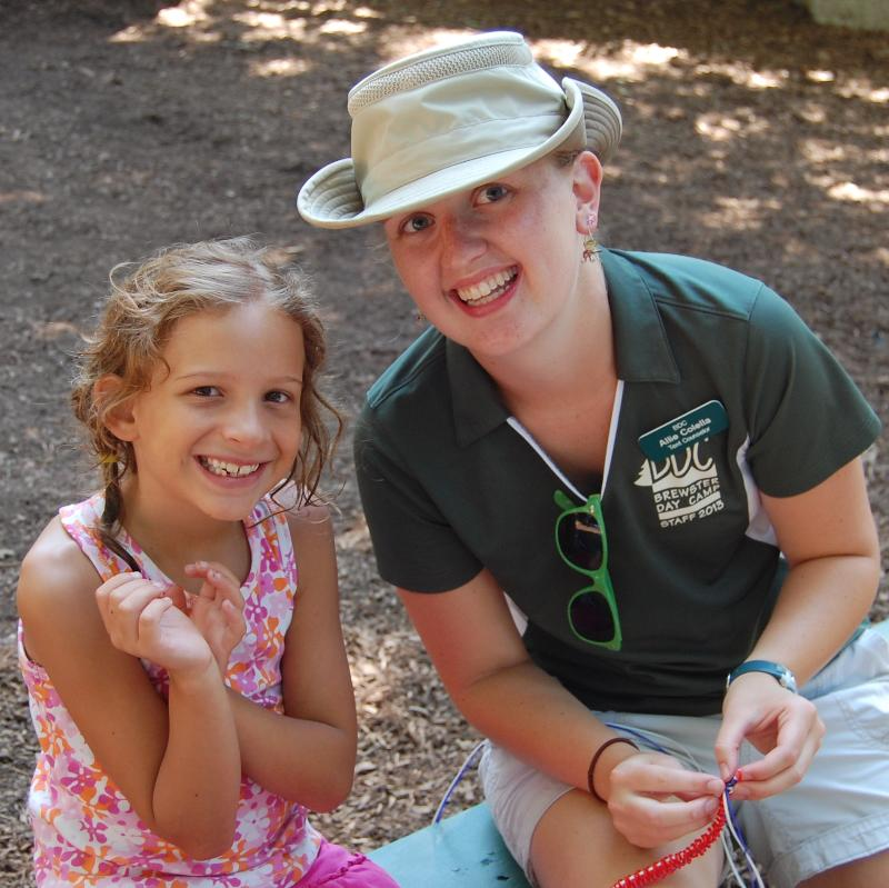 explore camper and counselor