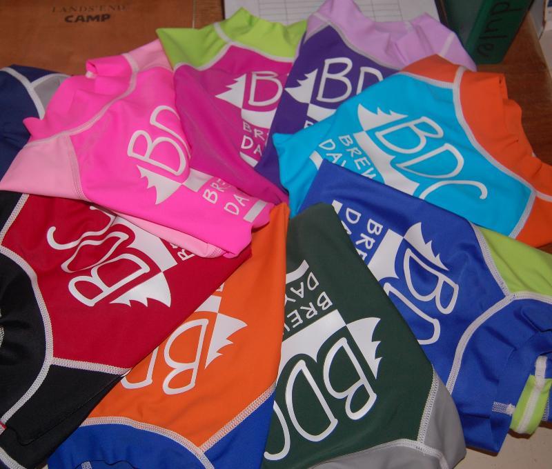 BDC swim shirts