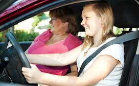 Mom Driving w/Teen