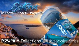 V-Collections  Greek Memories 3  - Santorini
