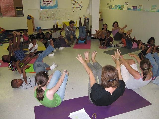 yoga at DCG