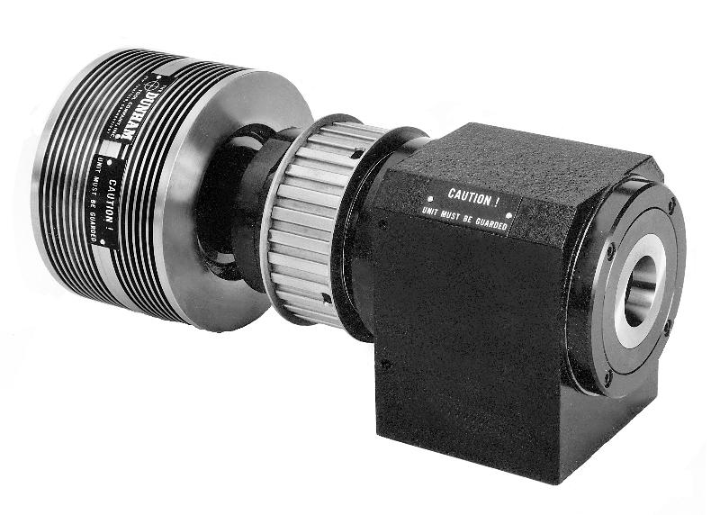 Dunham 50M 5C Spindle With Air Collet Closer And Pulley