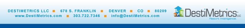 DestiMetrics Newsletter footer