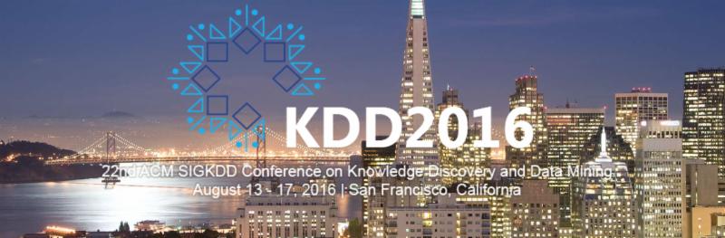 KDD 2016: Watch Talks by Top Data Science Researchers