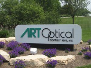 Art Optical Sign