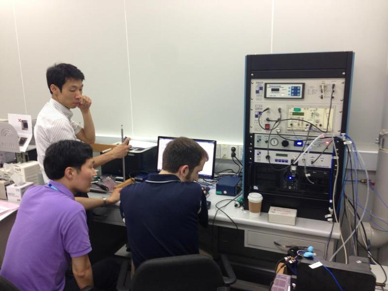 accelerometer calibration training in Seoul, Korea